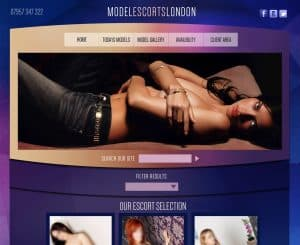 web design for escort agency